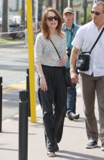 JULIANNE MOORE Out and About in Cannes 05/12/2015