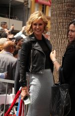 JULIE BOWEN at Sofia Vergara Honored with Star on Hollywood Walk of Fame in Los Angeles