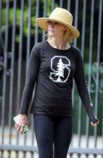 JULIE BOWEN Out Hiking in Studio City 05/21/2015