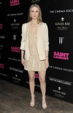 JULIE HENDERSON at Saint Laurent Screening in New York