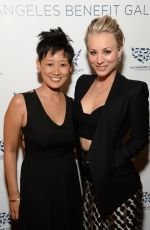 KALEY CUOCO at The Humane Society Los Angeles Benefit Gala