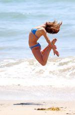 KARINA SMIRNOFF in Bikini at a Beach in Malibu