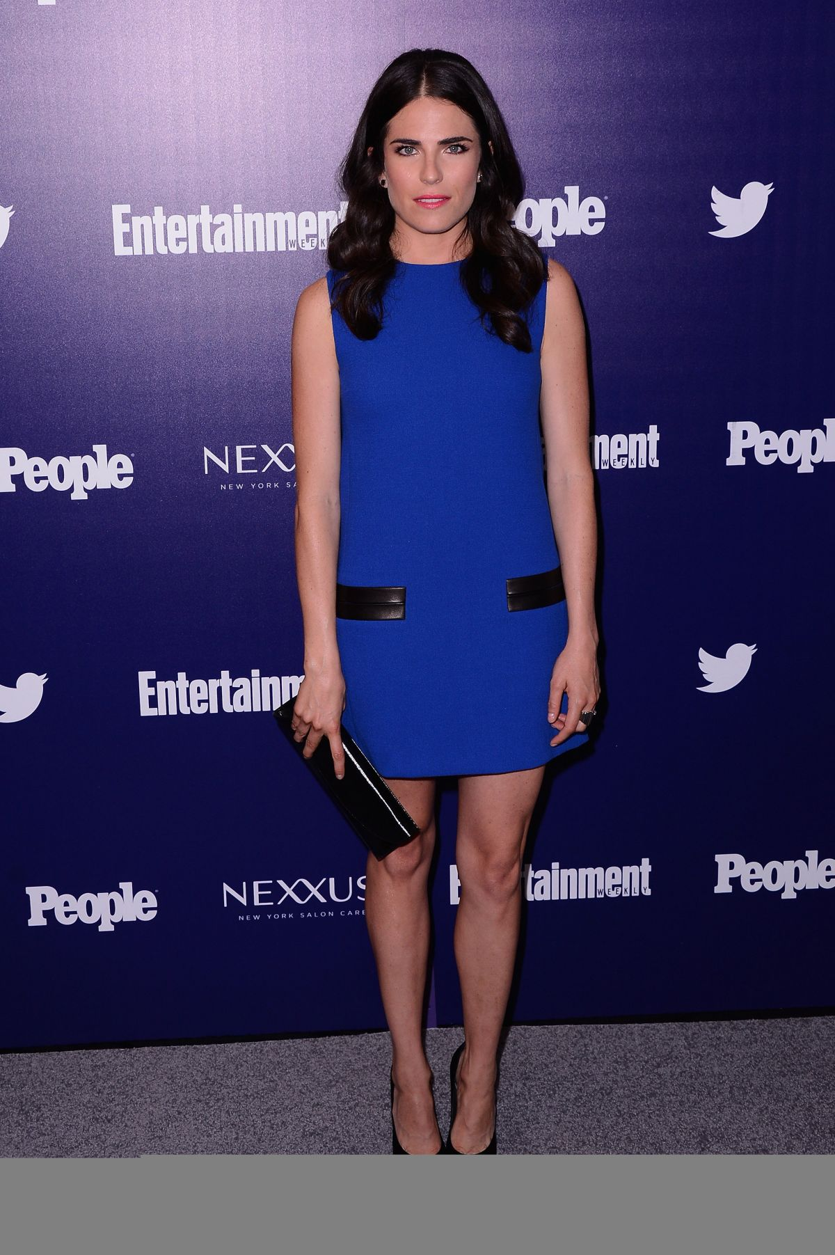 KARLA SOUZA at EW and People Celebrate the NY Upfronts in New York