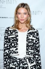KARLIE KLOSS at 2015 Infinity Awards in New York