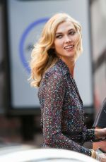 KARLIE KLOSS at Photoshoot for Diane Von Furstenberg in New York 05/28/2015