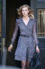 KARLIE KLOSS at Photoshoot for Diane Von Furstenberg in New York 05/28/2015