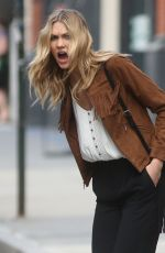 KARLIE KLOSS on the Set of a Photoshoot in New York 05/06/2015