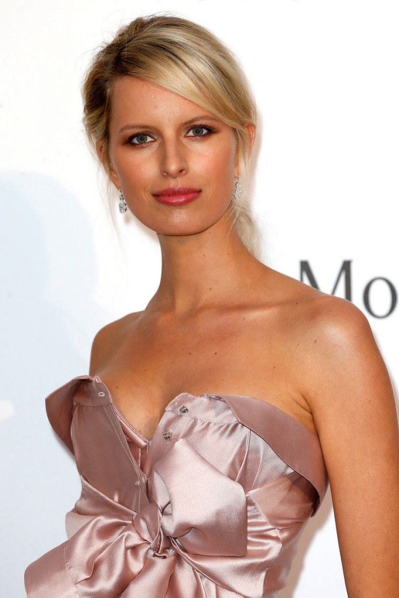 KAROLINA KURKOVA at Amfar's 2015 Cinema Against Aids Gala in Cap d'Antibes
