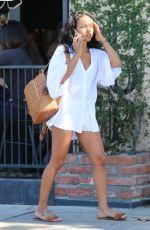 KARREUCHE TRAN Arrives at Somerville Spa in Beverly Hills