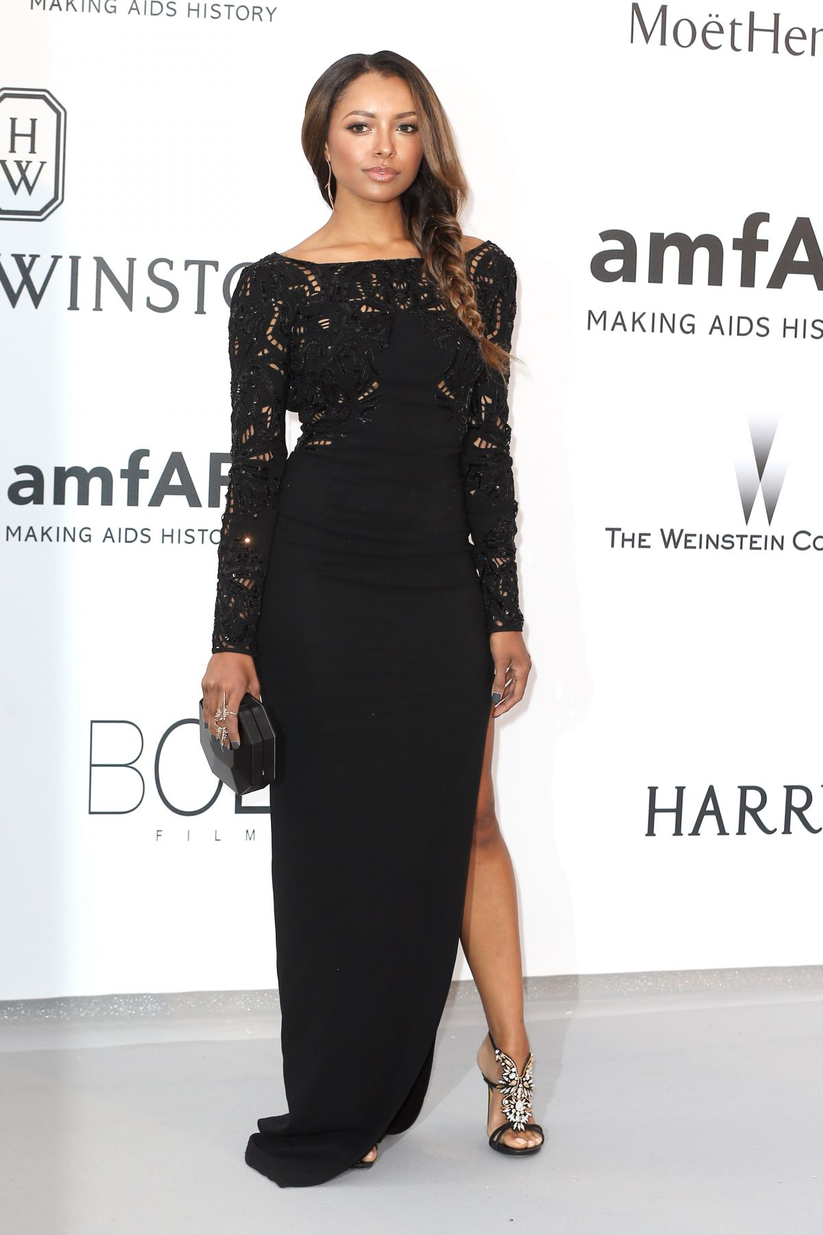 KAT GRAHAM at Amfar's 2015 Cinema Against Aids Gala in Cap d'Antibes