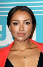 KAT GRAHAM at CW Network's 2015 Upfront in New York