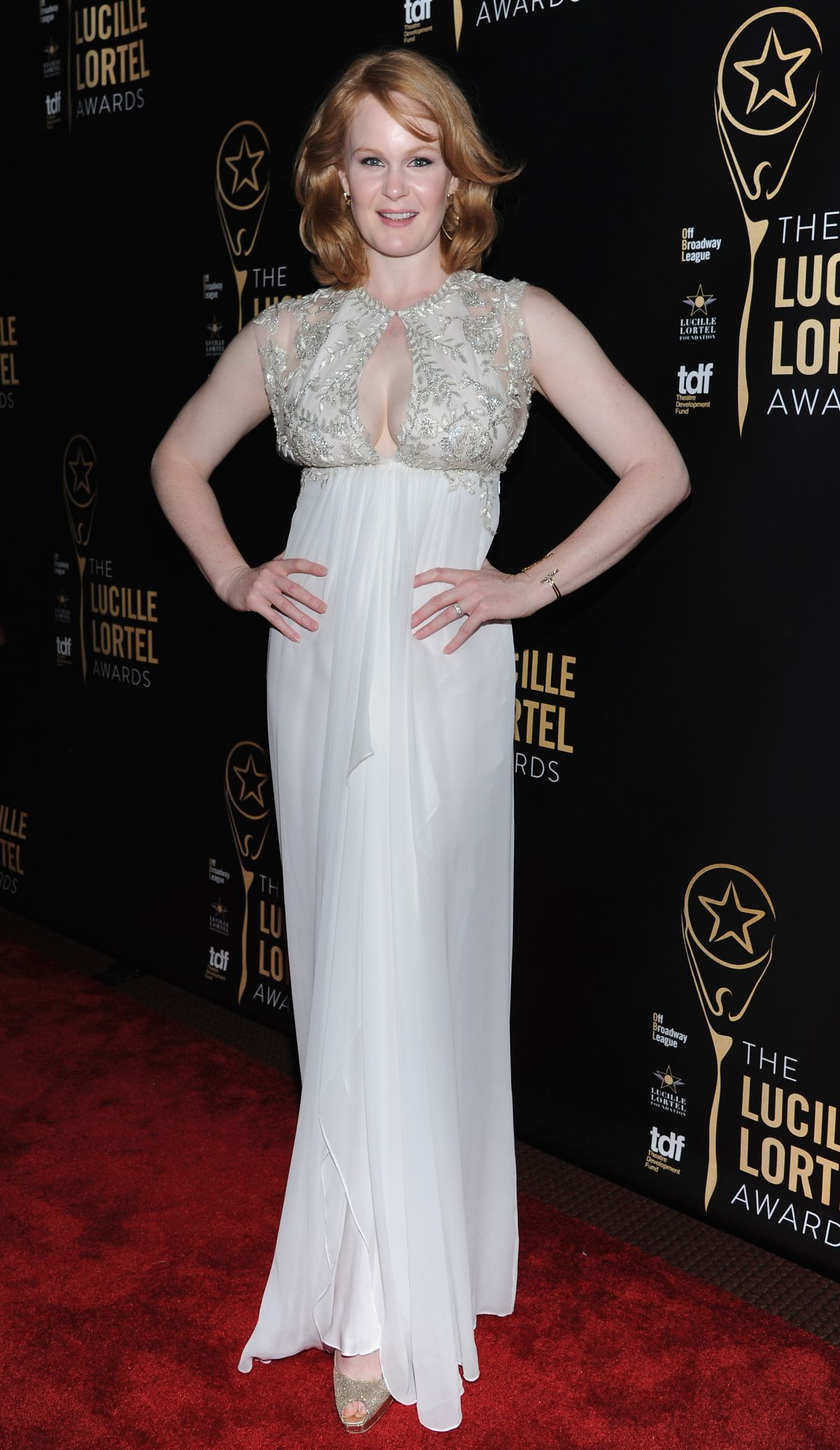 KATE BALDWIN at 30th Annual Lucille Lortel Awards in New York