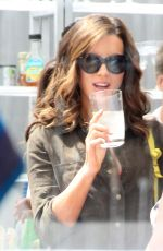 KATE BECKINSALE at Joel Silvers Memorial Day Party in Los Angeles