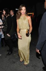 KATE BECKINSALE at MET Gala After Party in New York