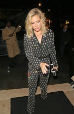 KATE HUDSON Night Out in London 05/14/2015
