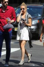 KATE HUDSON Out and About in New York 05/03/2015