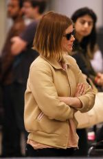KATE MARA at JFK Airport in New York 05/03/2015