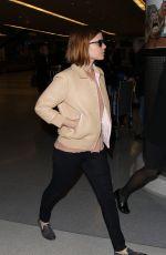 KATE MARA at JFK Airport in New York 05/03/2015