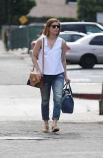 KATE MARA Out and About in West Hollywood 05/01/2015