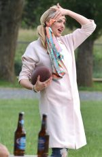 KATE UPTON on the Set of The Layover in Vancouver 05/12/2015