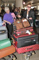 KATHERINE HEIGL Arrives at Los Angeles International Airport 05/05/2015