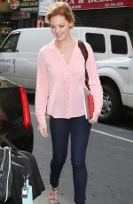 KATHERINE HEIGL Out and About in New York 05/12/2015
