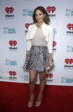 KATHERINE MCPHEE at iHeartradio Summer Pool Party in Las Vegas