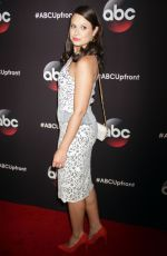 KATIE LOWES at 2015 ABC Upfront in New York