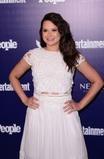 KATIE LOWES at EW and People Celebrate the NY Upfronts in New York