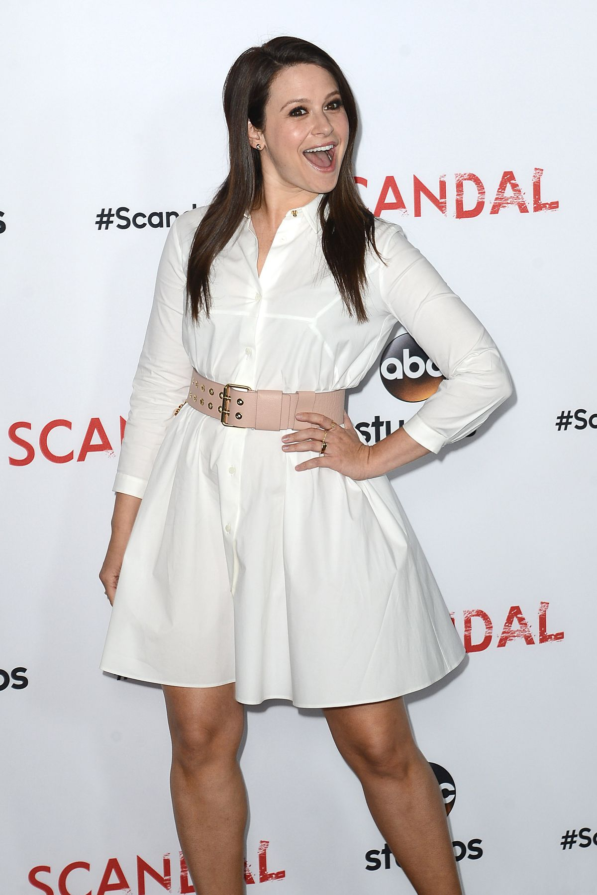 KATIE LOWES at Scandal Q&A Event Event in Los Angeles