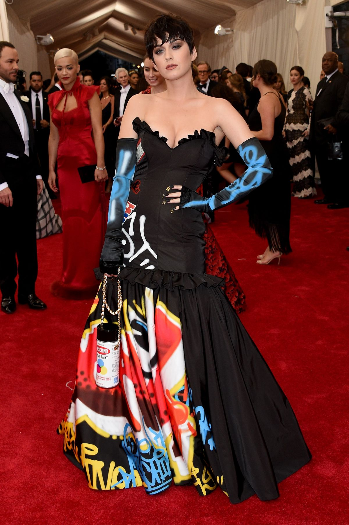 KATY PERRY at MET Gala 2015 in New York
