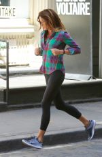 KELLY BENSIMON Out Jogging in New York 04/28/2015