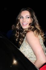 KELLY BROOK and HOFIT GOLAN Arrives at Gotha Night Club in Cannes 05/19/2015