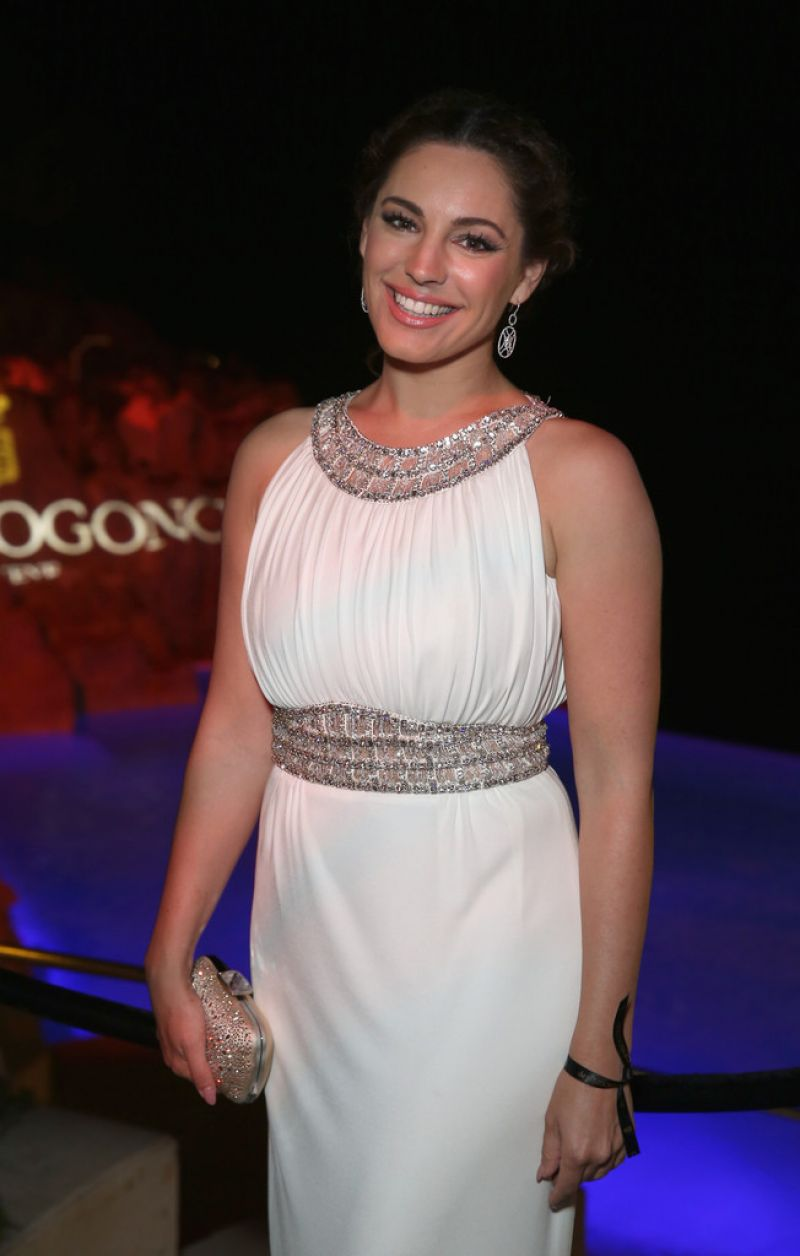 KELLY BROOK at De Grisogono Party in Cannes