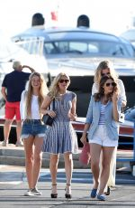 KELLY BROOK Out and About in Antibes 05/20/2015