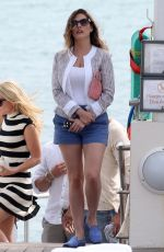 KELLY BROOK Out and About in Cannes 05/19/2015