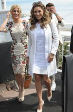 KELLY BROOK Out and About in Cannes 05/21/2015