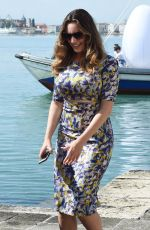 KELLY BROOK Out and About in Venice, Italy