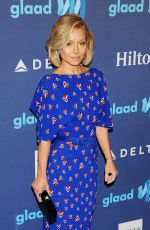 KELLY RIPA at VIP Red Carpet Suite at the 26th Annual Glaad Media Awards in New York