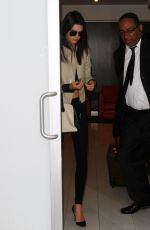 KENDALL JENNER at LAX Airport in Los Angeles 05/27/2015