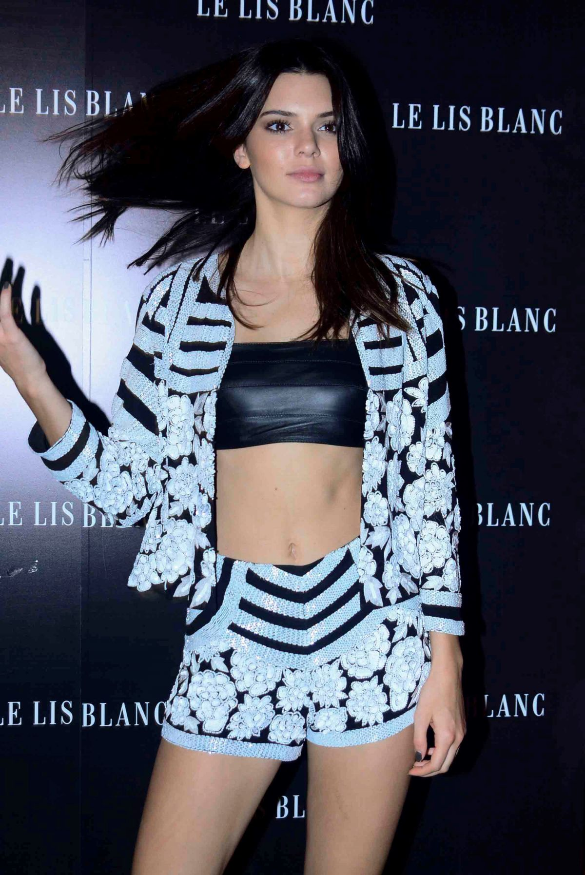 KENDALL JENNER at Le Lis Blanc After Party in Sao Paulo