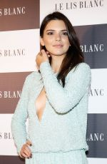 KENDALL JENNER at Le Lis Blanc Cocktail Party in Sao Paulo