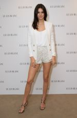KENDALL JENNER at Le Lis Blanc Photocall in Sao Paulo
