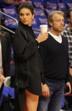 KENDALL JENNER at the LA Clippers Game