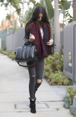 KENDALL JENNER in Tight Jeans Out in Beverly Hills 05/15/2015