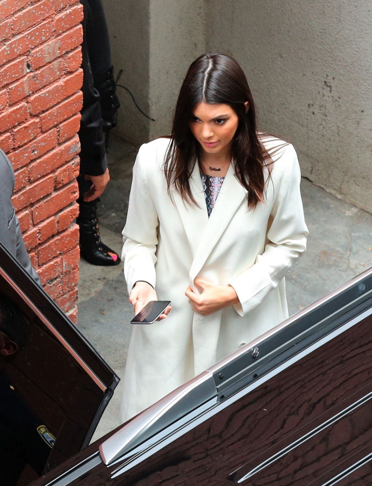 KENDALL JENNER Leaves Pacsun Store in Santa Monica 05/30/2015