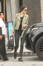 KENDALL JENNER Out and About in Hollywood 05/08/2015