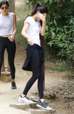 KENDALL JENNER Out Hiking in Calabasas