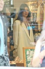 KENDALL JENNER Shopping at Pacsun Store in Santa Monica 05/30/2015