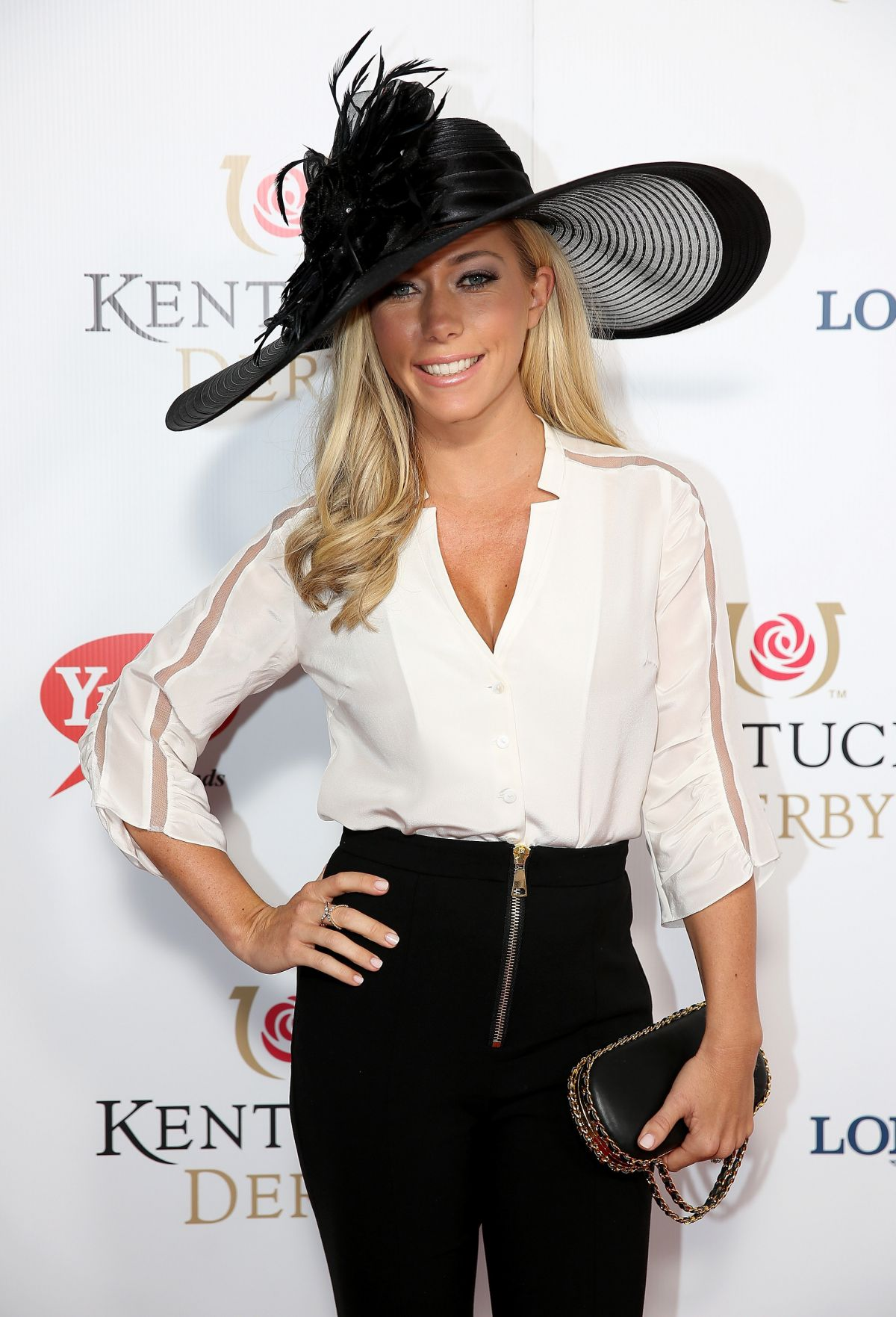 KENDRA WILKINSON at 141st Kentucky Derby at Churchill Downs